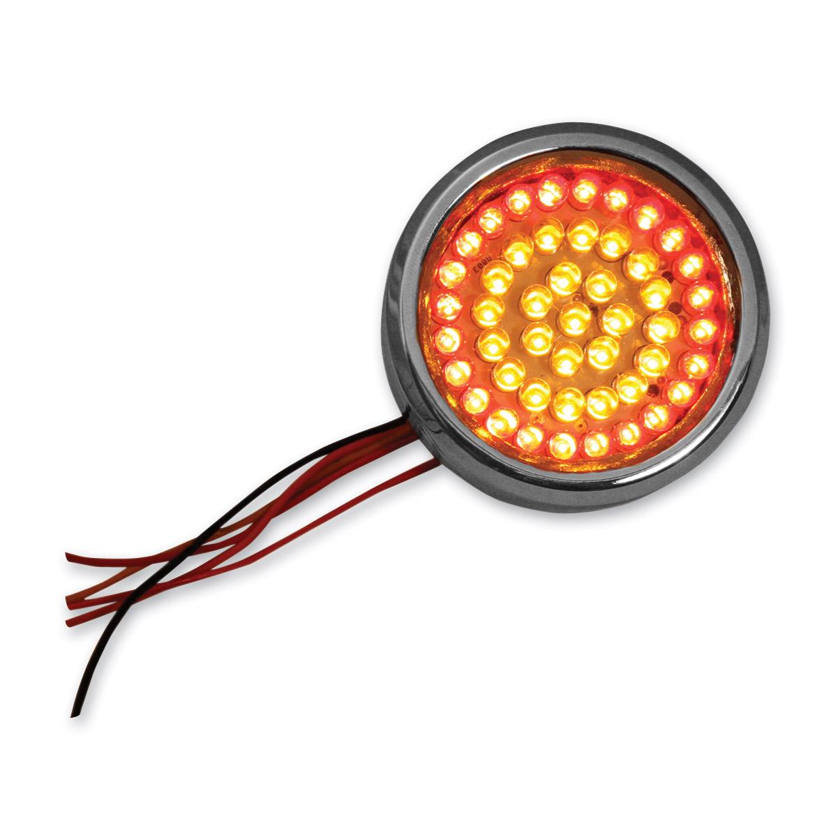 Custom Dynamics 2-1/4″ Chrome LED Circles
