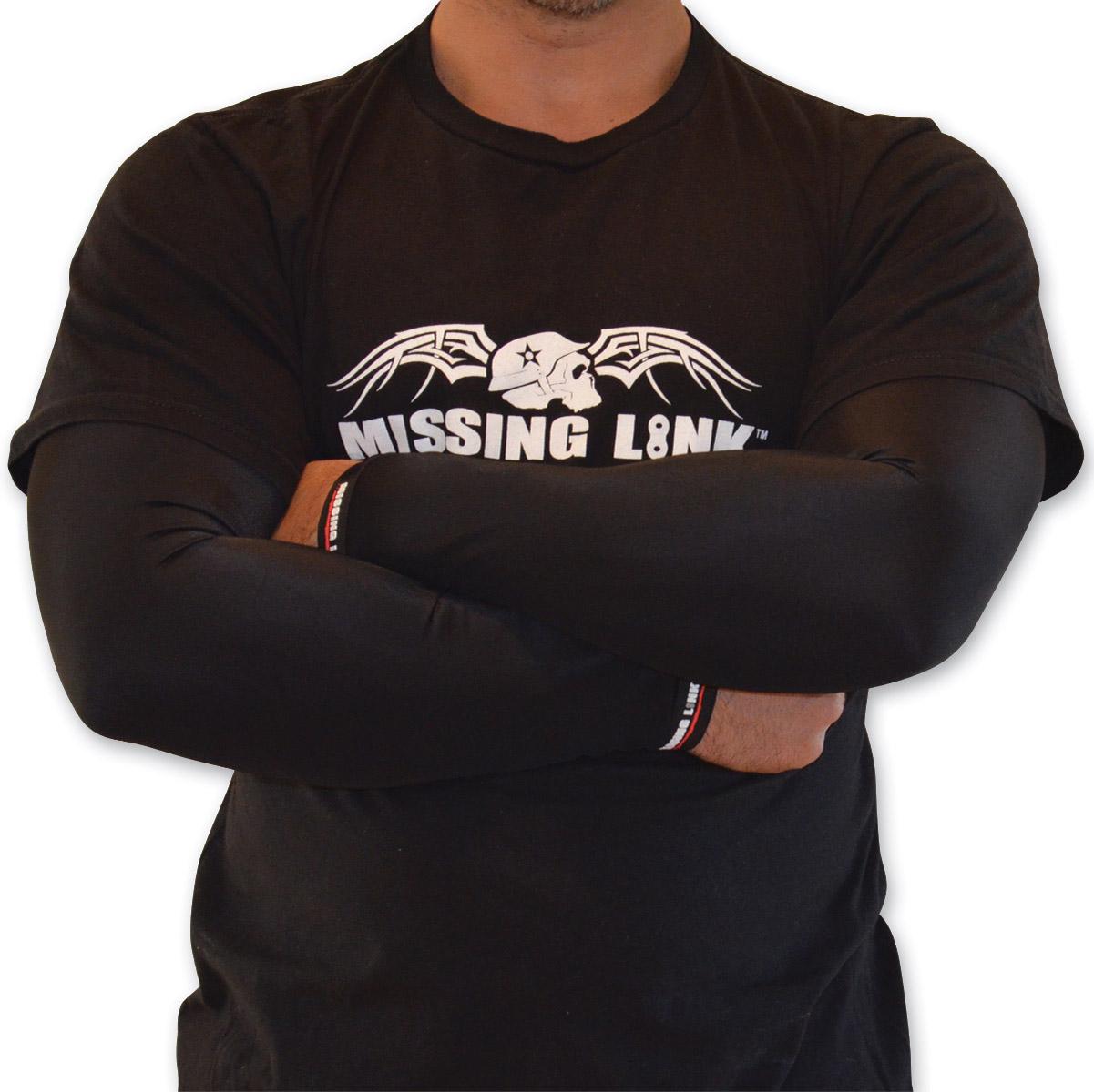 Missing Link Solid Black ArmPro Sleeves