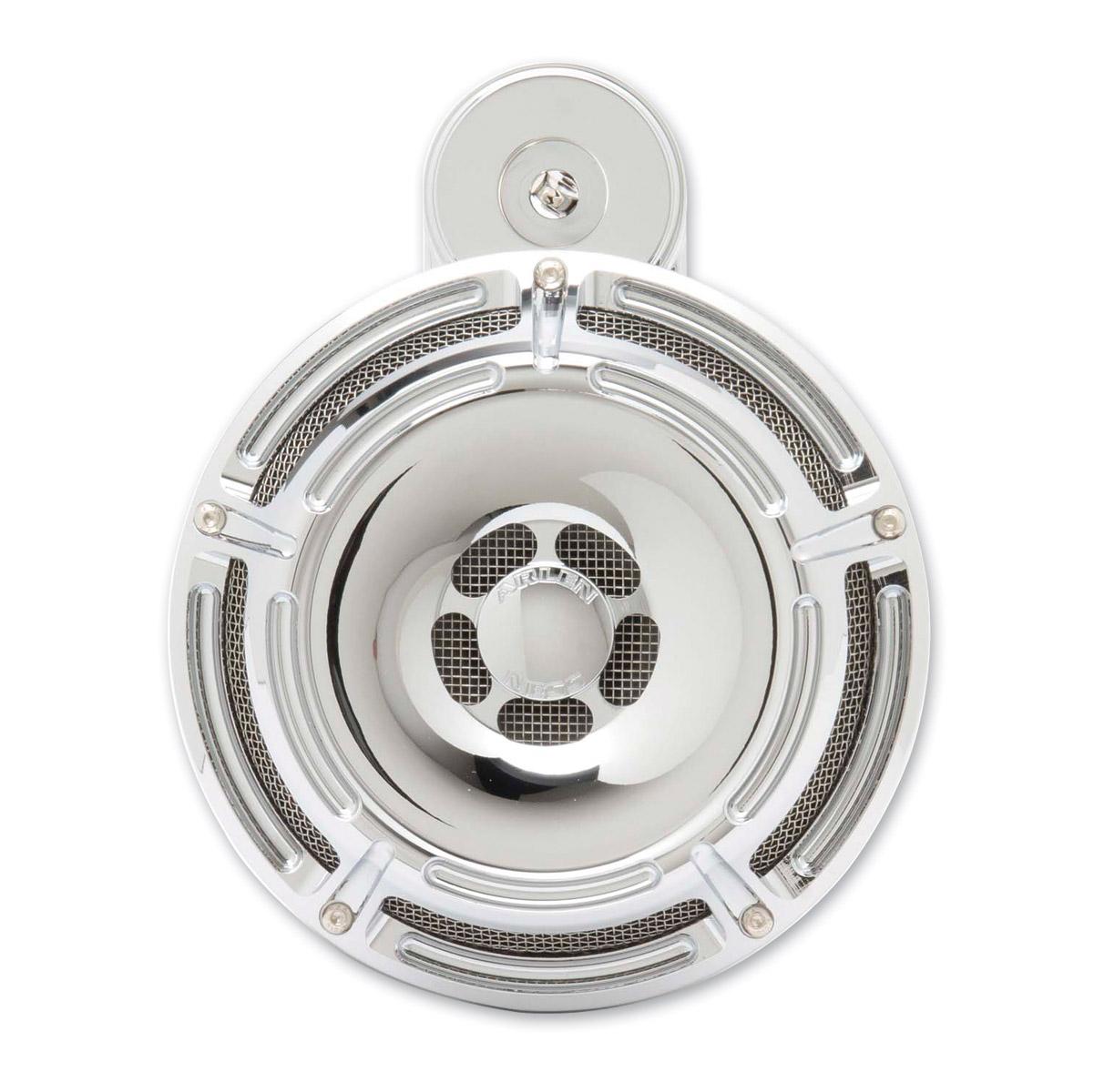 Arlen Ness Slot Track Chrome Universal Horn Kit