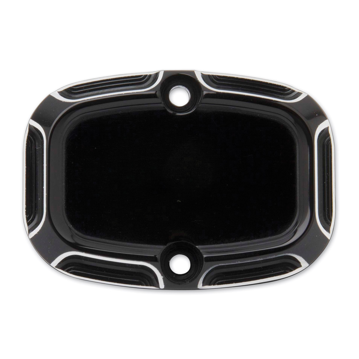 Arlen Ness Black Beveled Hydraulic Clutch Master Cylinder Cover