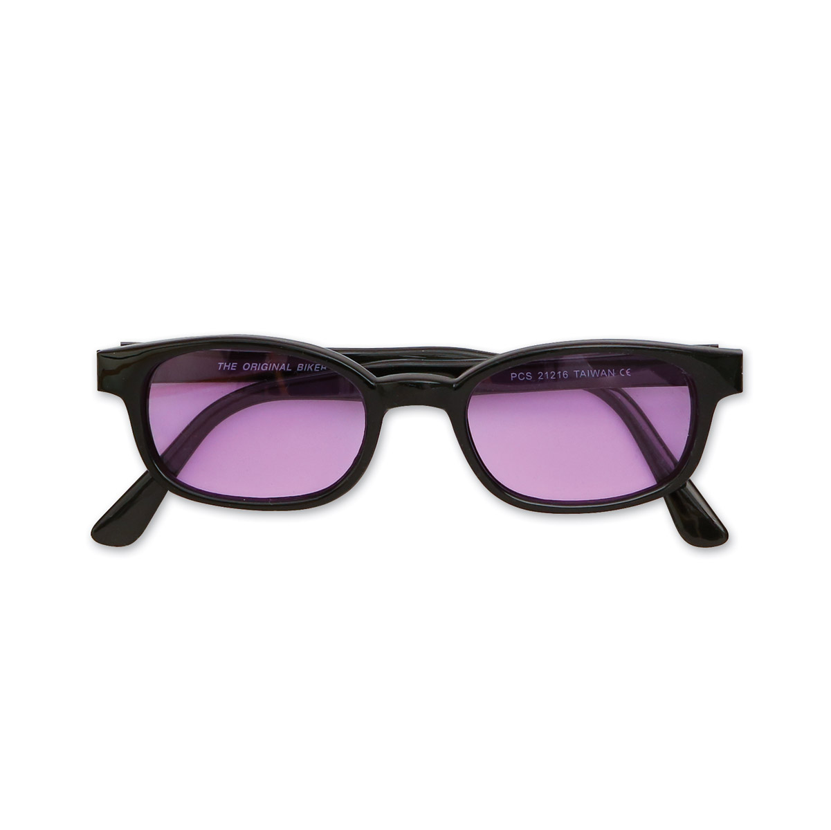 Original KD's Sunglasses-Black Frame with Purple Lens