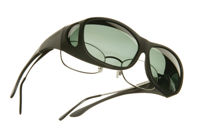 Cocoons Slim Line Medium Black Frame Sunglasses