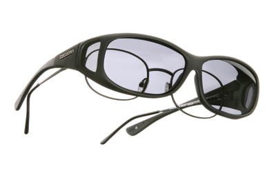 Cocoons Mini Slim Sm/Med Black Frame Sunglasses