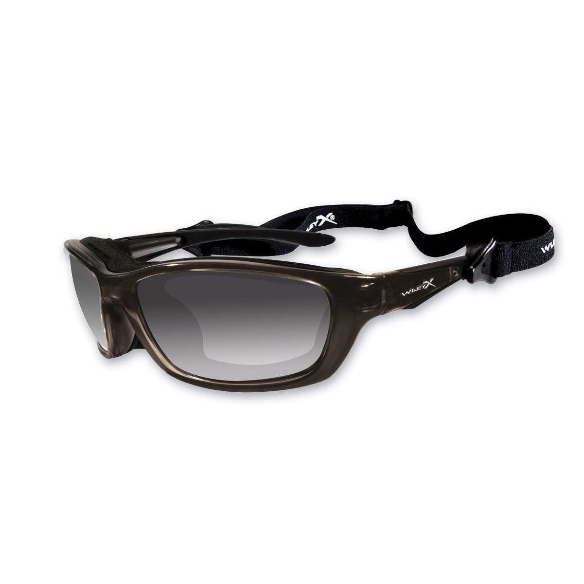 Wiley X Brick Sunglasses with Light-Adjusting Lens