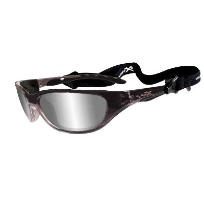 Wiley X AirRage Sunglasses Polarized Silver Lens