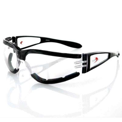 Bobster Shield II Clear Sunglasses
