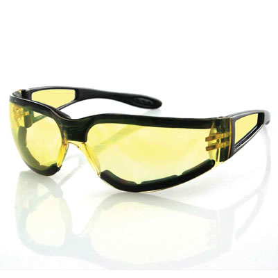 Bobster Shield II Yellow Sunglasses