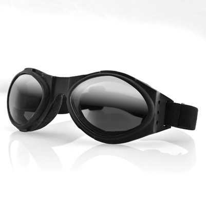 Bobster Bugeye Goggles with Dark Reflective Lens