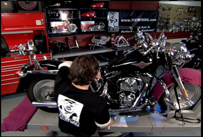 Fix My Hog Softail & Dyna Edition DVD Part 1 & 2