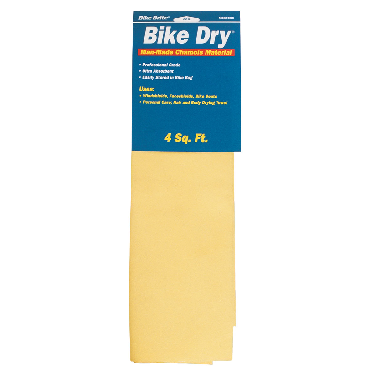 Bike Dry Man-Made Chamois