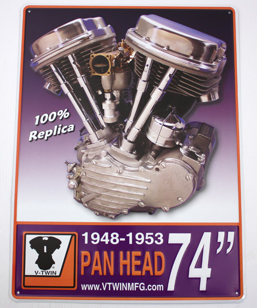 V-Twin Manufacturing Motor Plaque