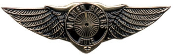 Women Bikers Rule Pin