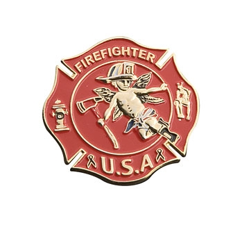 Gunz Fire/Rescue Angel Pin