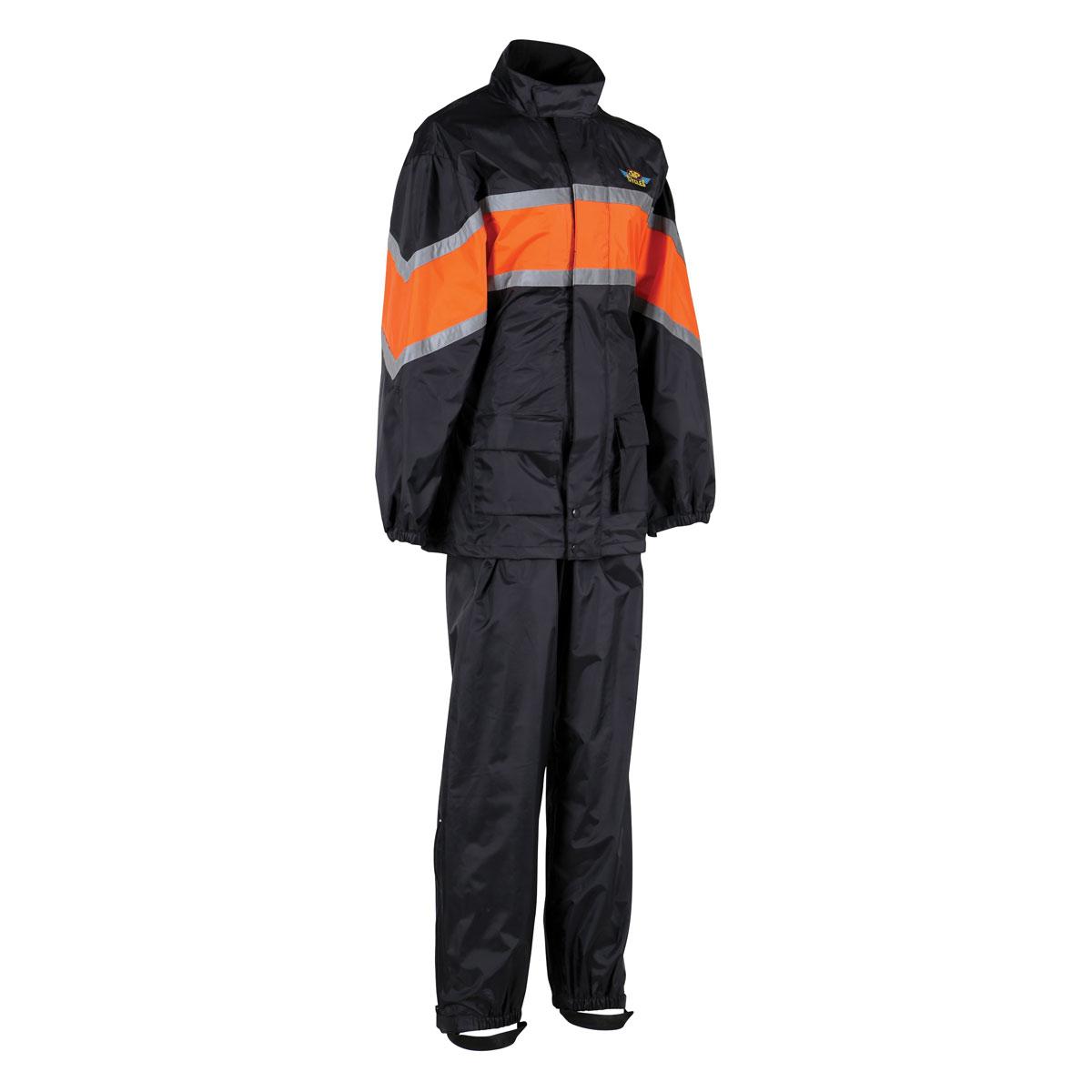 J&P Cycles® Two-Piece Top Quality Rain Suit