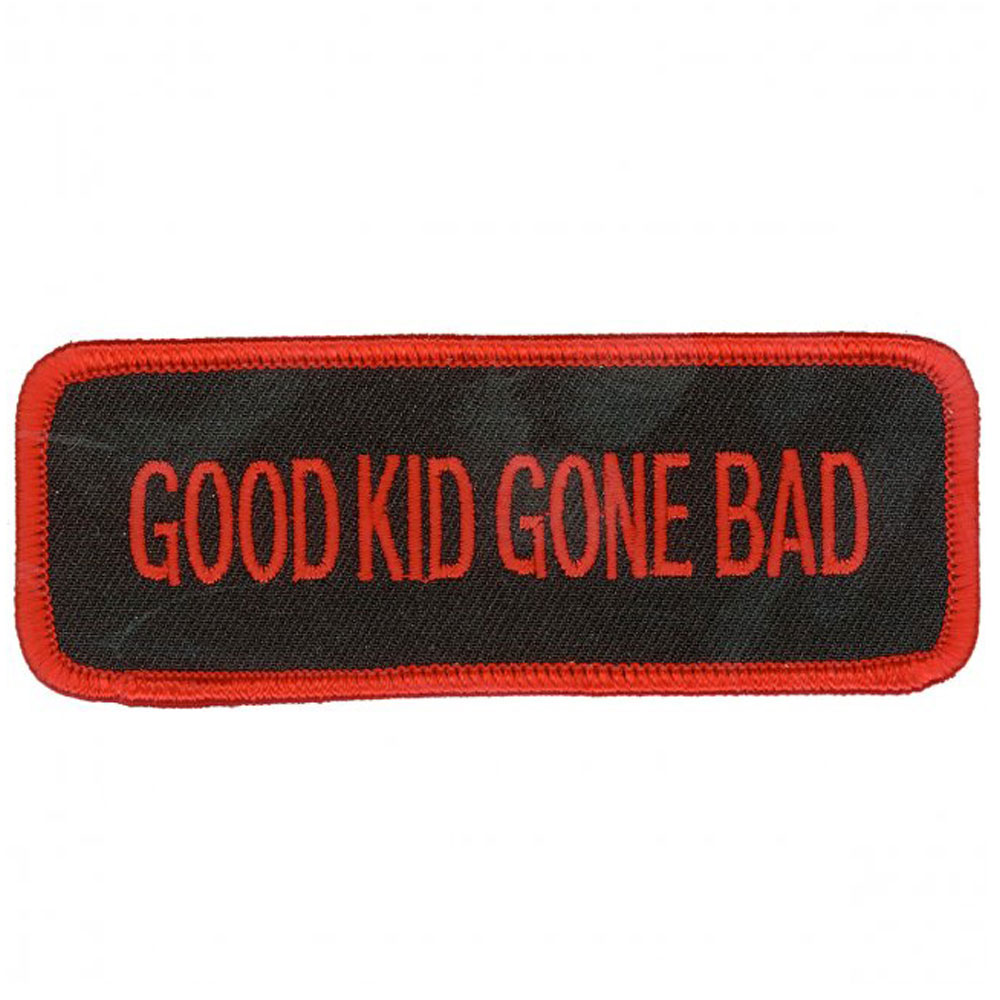 Hot Leathers Good Kid Gone Bad Embroidered Patch