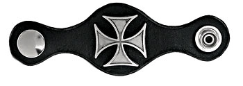 Carroll Leather Iron Cross Leather Vest Extenders
