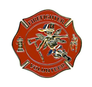 Gunz Volunteer Firefighter Pin