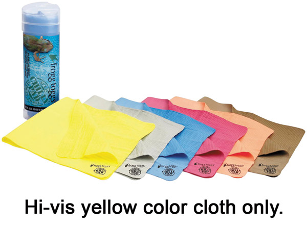 Frogg Toggs Hi-Vis Yellow Chilly Pads