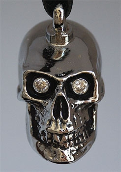 Cranium Train Skull Bell with White Eyes