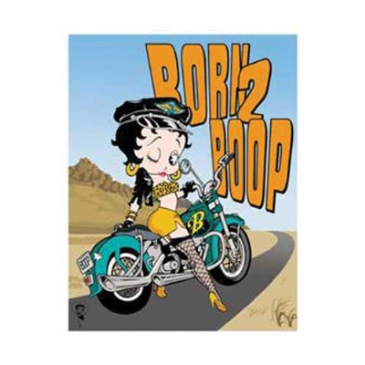 Nostalgic Images Born To Boop Collector Metal Sign