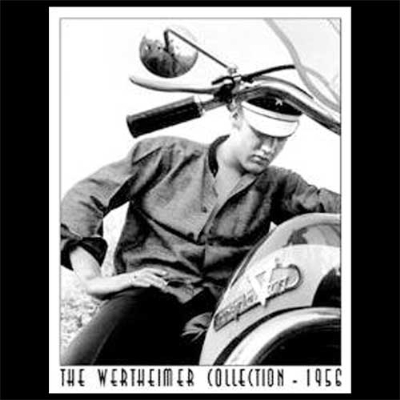 Nostalgic Images Elvis Motorcycle Collector Metal Sign