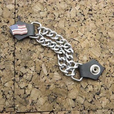 Eagle Leather American Flag Vest Extender