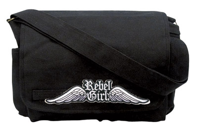 Rebel Girl Messenger Bag