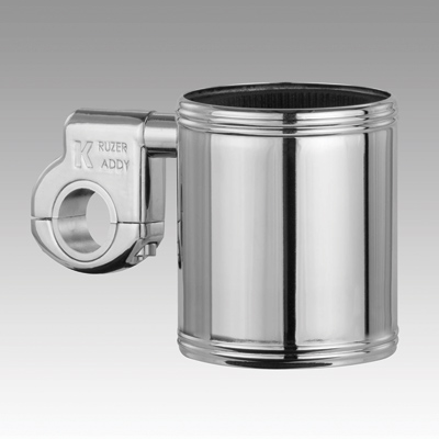 Kruzer Kaddy Chrome Beverage Holder