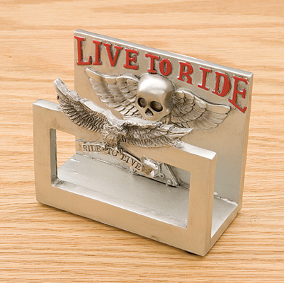 JBN Custom Live to Ride Business Card Holder