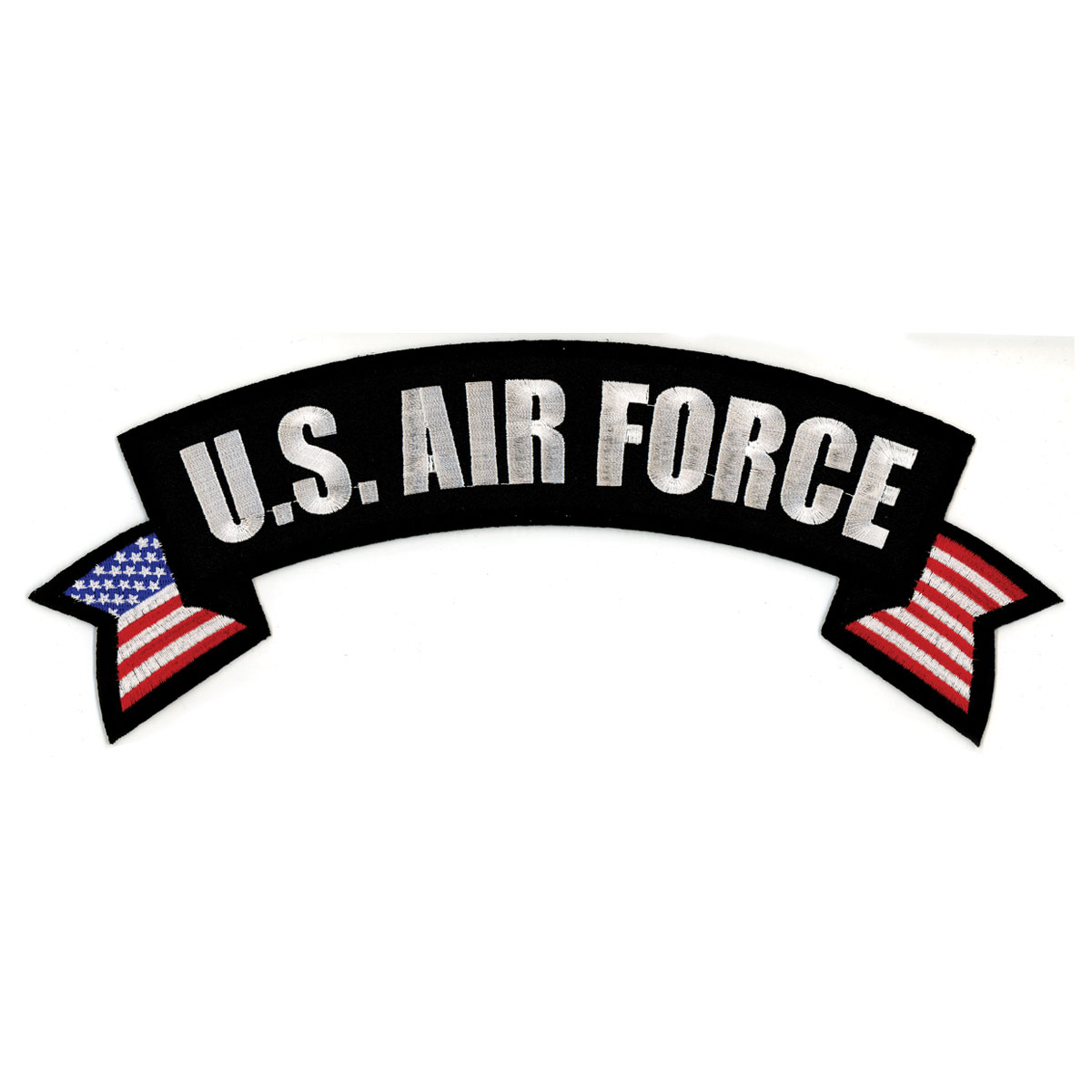 Hot Leathers US Air Force Flag Banner Patch