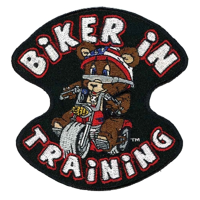 Hot Leathers Biker in Training Embroidered Patch