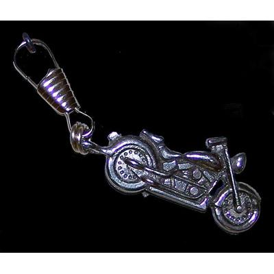 Guardian Bell Softail Zipper Pull