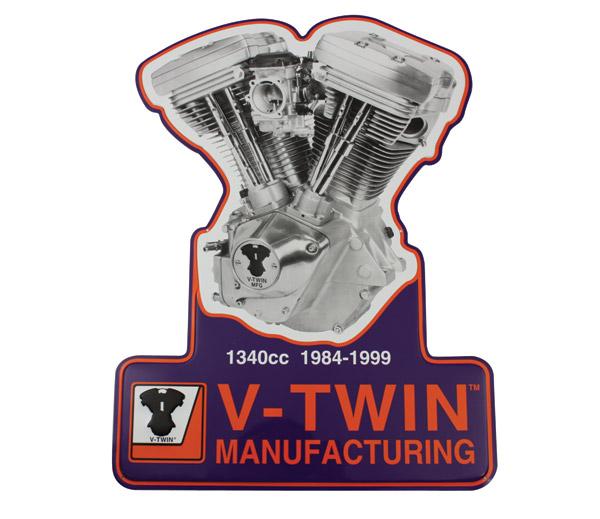 V-Twin Manufacturing V-Twin Motor Sign Set