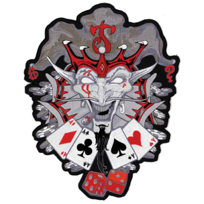 Lethal Threat Joker's Wild Embroidered Patch