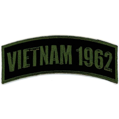 GoodSports Vietnam 1962 Arm Rocker Patch