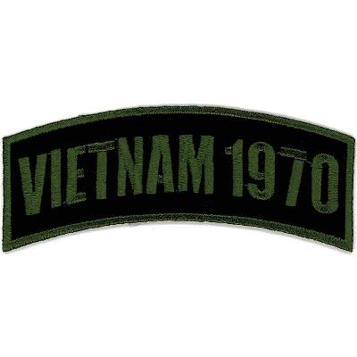 Hot Leathers Vietnam 1970 Arm Rocker Patch
