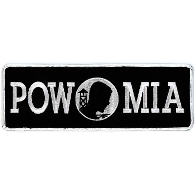 Hot Leathers POW MIA Lower Back Patch