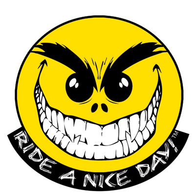 Baron Custom Accessories Ride a Nice Day Embroidered Patch