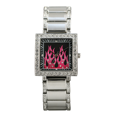 Ram Instrument Highway Honeys Pink Flame Watch