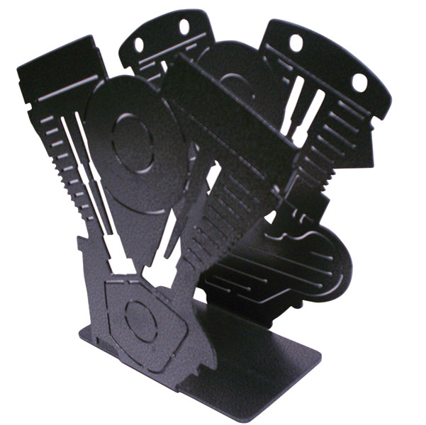 Evo/Shovel Motor Magazine Rack