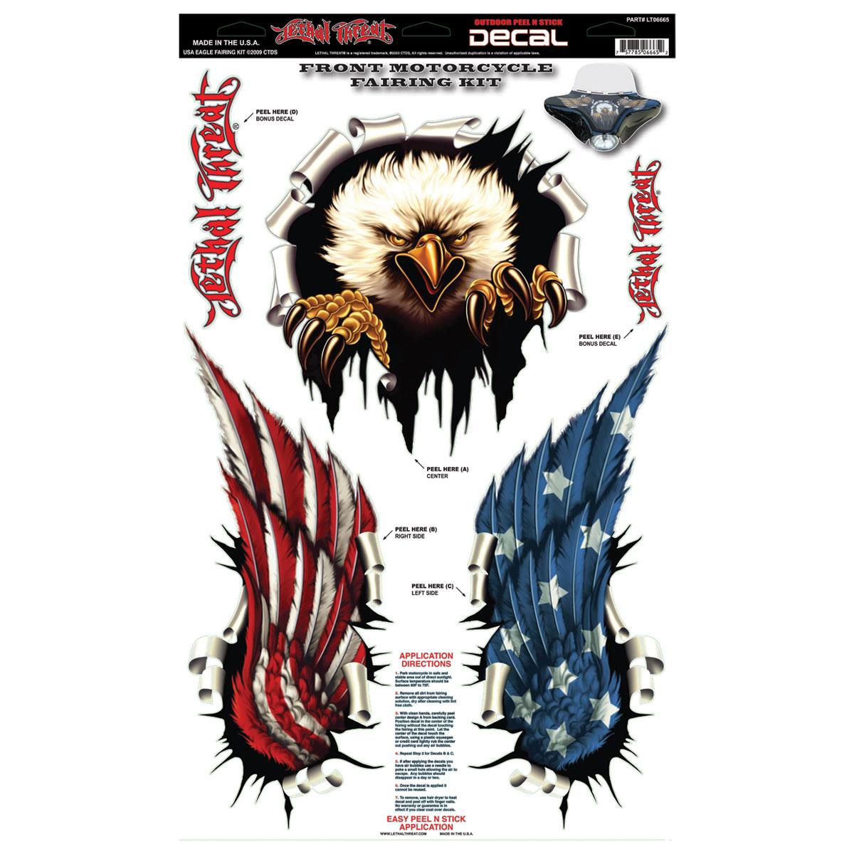Lethal Threat USA Eagle Fairing Kit