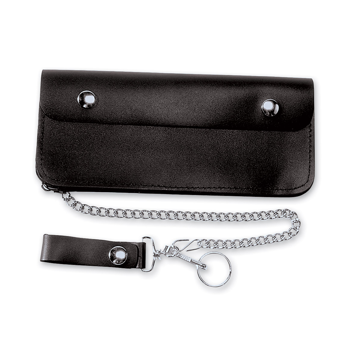 Carroll Leather 9″ Five-Pocket Biker/Trucker Chain Wallet