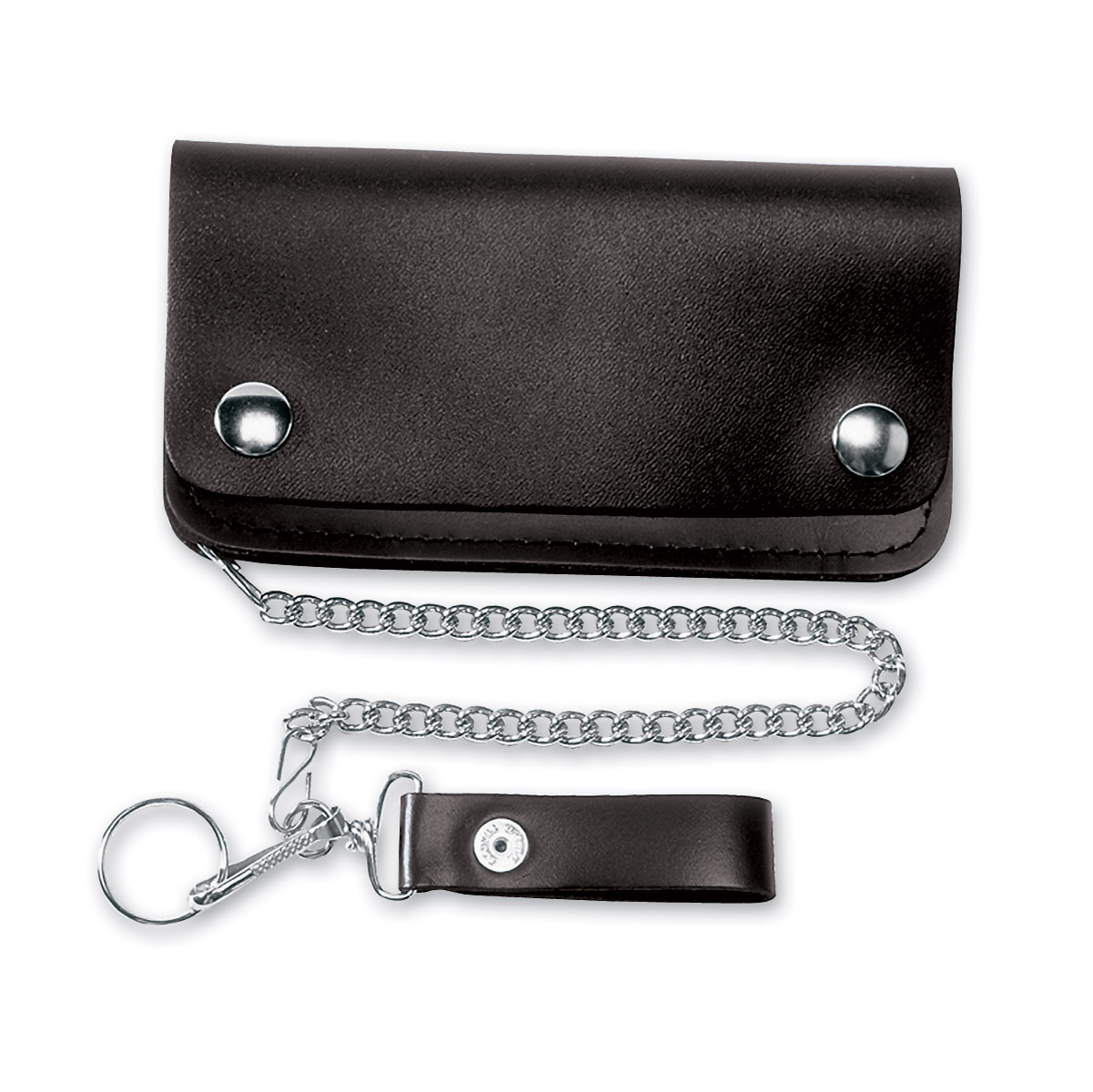 Carroll Leather 6″ Three-Pocket Chain Wallet