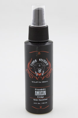 Time Rider, Shtuff for Bikers Freakin Amazin Crap Rash Treatment and Skin Soother