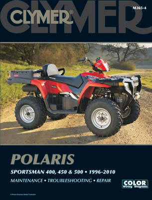 Clymer Polaris Sportsman 400, 450 & 500 Manual, 1996-2010