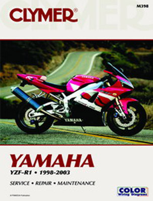 Clymer Yamaha YZF-R1Manual, 1998-2003
