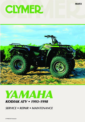 Clymer Yamaha YMF400 Kodiak Manual, 1993-1998