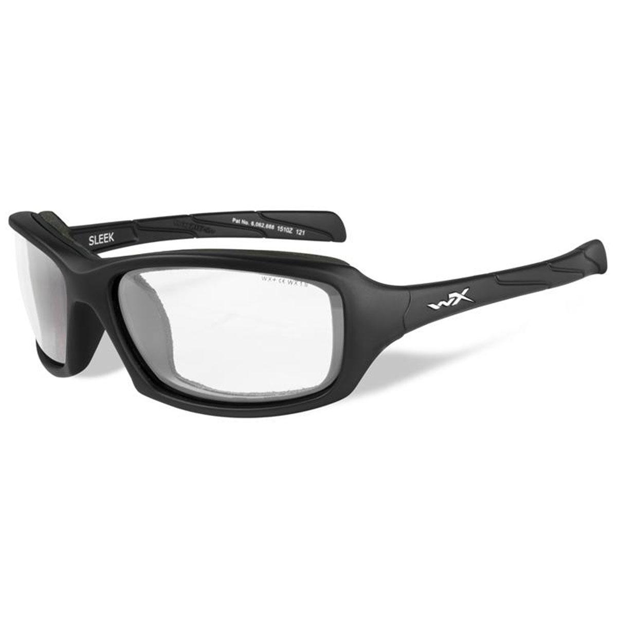 9841149c7d6e Wiley X Sleek Matte Black Sunglasses with Clear Lens - CCSLE03 ...