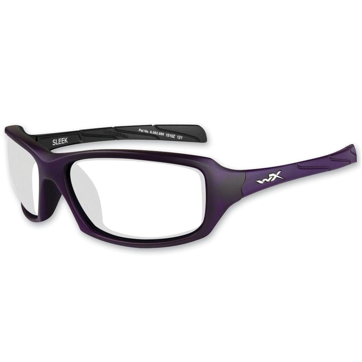 Wiley X Sleek Matte Violet Frames
