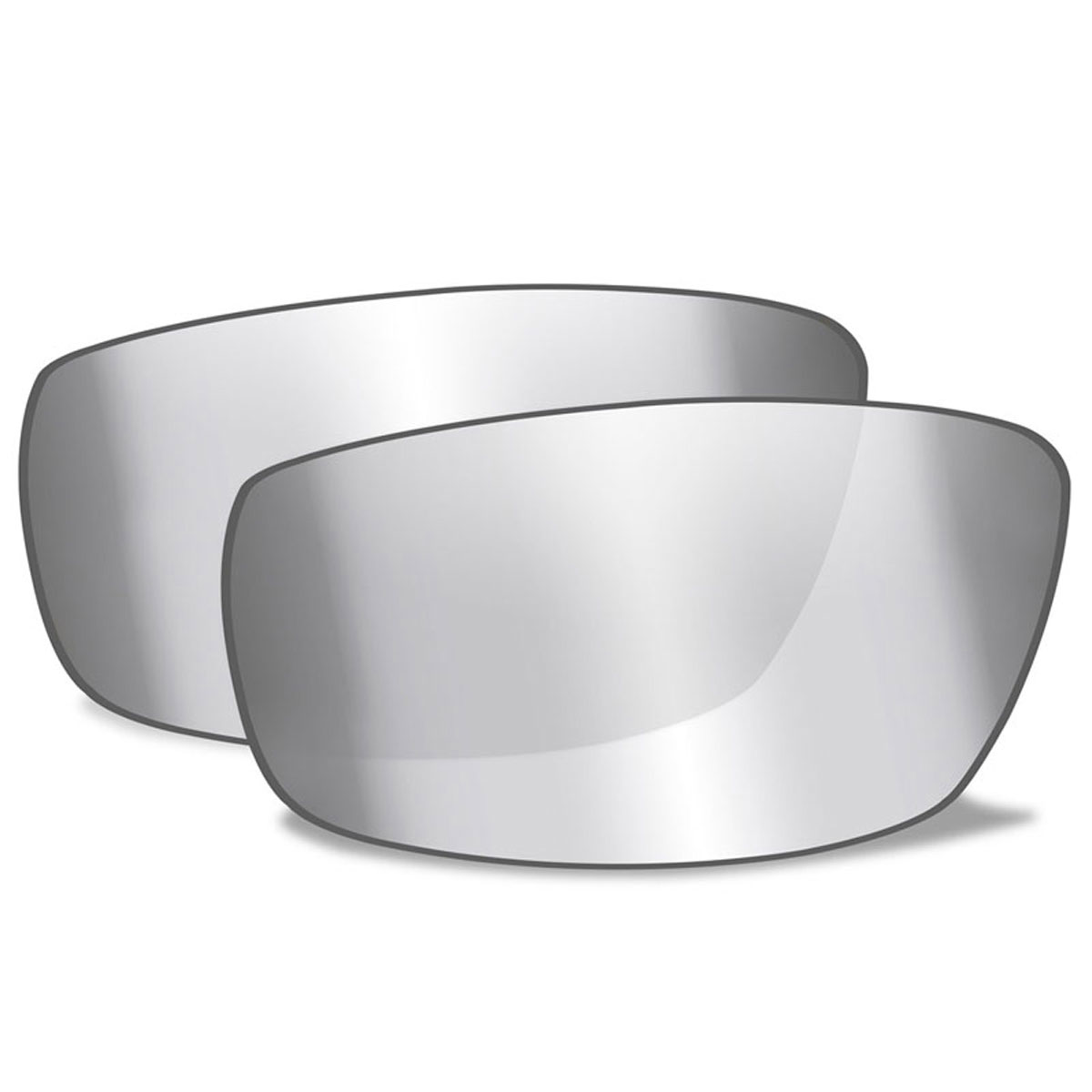 Wiley X Sleek Silver Flash Lenses